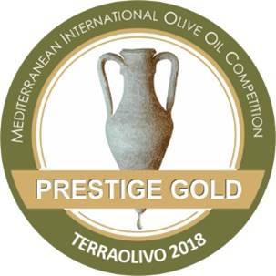 מדלית זהב לשמן הזית של סינדיאנת הגליל בתחרות טרה אוליבו בישראל
