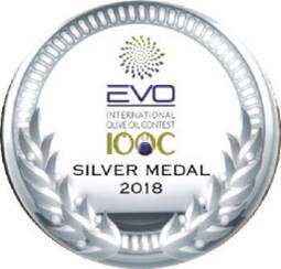 מדלית כסף לשמן הזית האורגני של סינדיאנת הגליל בתחרות בינלאומית באיטליה