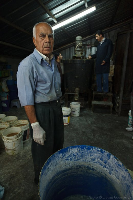 Tbeile soap factory in Nablus, 4 generations of soap producers