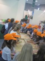 BIOL 2015 - the best organic extra virgin olive oils from around the world - Bari - Laboratories of traditional activities with school children